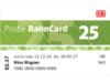 bahn.de: Probe BahnCard 25 für 19 Euro – nur bis 10. Juni 2017