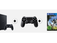 MediaMarkt: Playstation 4 Slim Bundle mit Controller + Horizon Game für 299 Euro