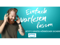 Amazon Prime: Audible Abo 3 Monate gratis zum Testen