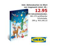 IKEA Adventskalender: Ab Anfang Oktober in den Filialen verfügbar