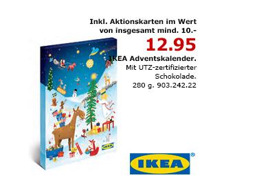 Ikea adventskalender ab anfang oktober in den filialen for Ikea kalender