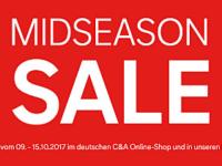 C&A Midseason Sale: Über 2.500 Artikel stark reduziert