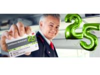 Jubiläums BahnCard 25 ab 25 Euro – 25 Prozent Rabatt auf Bahnreisen