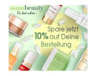 asambeauty Shop: 10 Prozent Rabatt auf das gesamte Sortiment