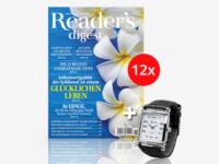 Reader's Digest Jahresabo für 19,92 Euro anstatt 46,90 €