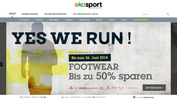 Ekosport Website