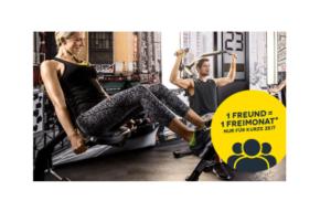 """McFIT Aktion """"Bring a Friend"""": Gratismonate für Freundewerbung"""
