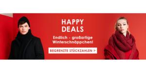 """Zalando Lounge Aktion """"Happy Deals"""": Winterschnäppchen in begrenzter Stückzahl"""
