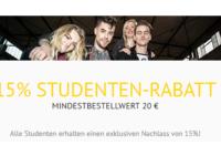 EMP Studentenrabatt: 15 Prozent Rabatt auf Artikel im Online Shop