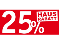 XXXLutz Möbel Aktion: 25 Prozent Hausrabatt auf ausgewählte Artikel