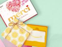 Amazon Gutschein Kauf ab 30 Euro: Gratis merci Packung zum Muttertag