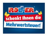 """19 Prozent geschenkt dank ROLLER Rabatt Aktion """"Mehrwertsteuer geschenkt"""""""