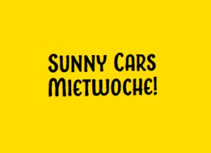 Sunny Cars Mietwoche: 15 Euro Rabatt auf jeden Mietwagen