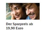Bahn Sparpreis: Ab 19,90 Euro im ICE, IC/EC und IC Bus