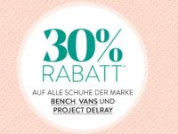 Roland Schuhe Aktion: 30 Prozent auf Bench, Vans + Project Delray