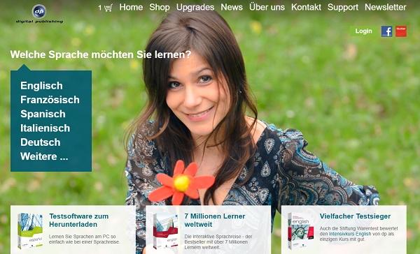 digital publishing Gutschein Website