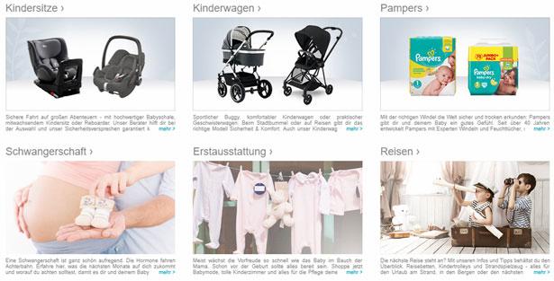 Baby-Markt Gutschein Ausstattung