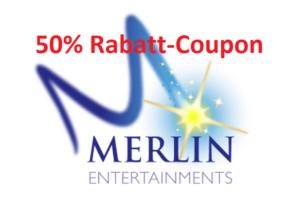 Merlin Aktionscoupon – Freizeitspaß zum halben Preis!