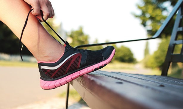 Sport bei Hitze Jogging