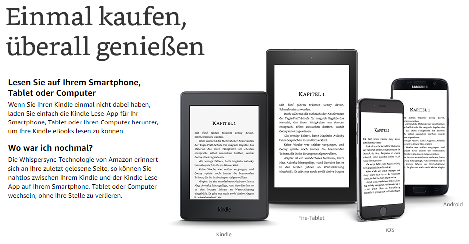 Amazon Gutschein Amazon Kindle