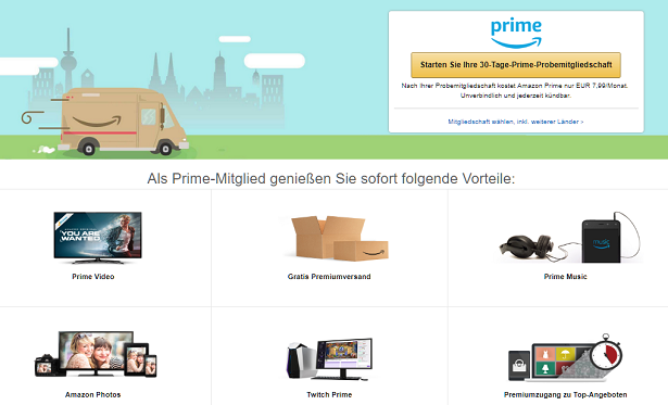 Amazon Gutschein Amazon Prime