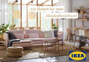 25€ IKEA Gutschein (MBW: 200€): Aktion im September 2018