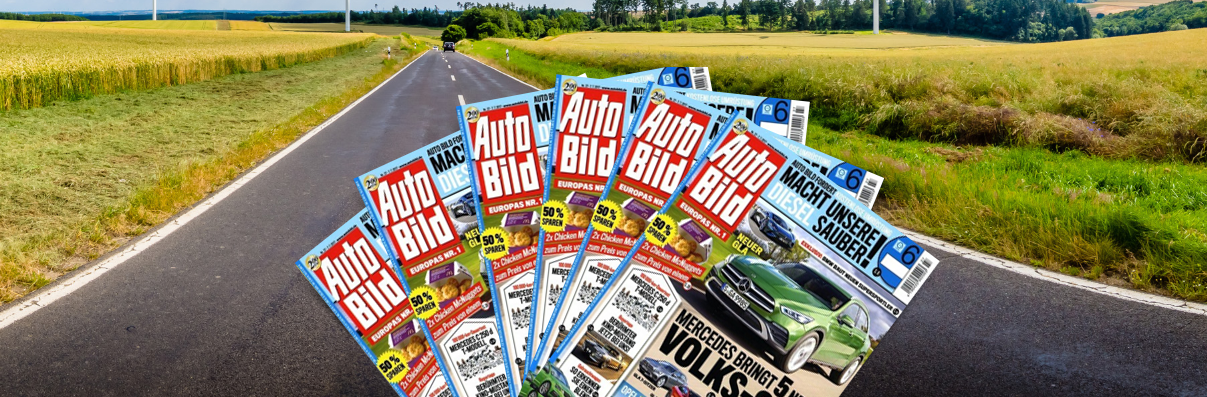 Zeitschriften-Abos zum Versandkostenpreis Auto Bild