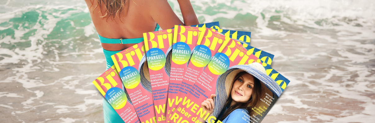 Zeitschriften-Abos zum Versandkostenpreis Brigitte