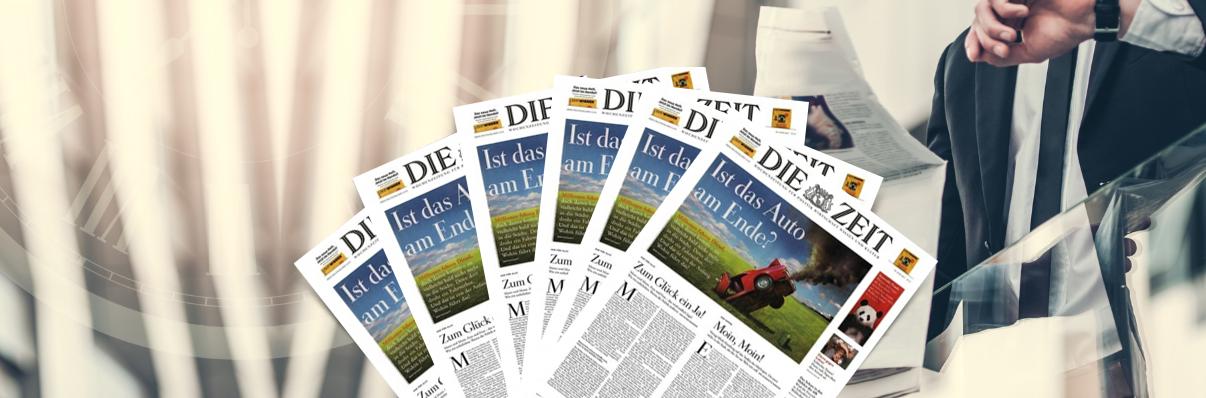 Zeitschriften-Abos zum Versandkostenpreis Die Zeit