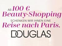 Douglas Reisegutschein nach Paris (MBW 100€)