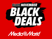 Mediamarkt Black Friday oder Mediamarkt Cyber Monday? Mediamarkt hat den Black November!