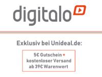 Exklusiv bei Unideal: 5€ Digitalo Gutschein!