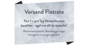 Brands4Friends Gutschein Versandflatrate
