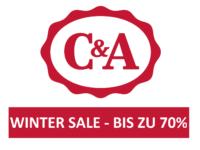 C&A Winter Sale – bis zu 70% Rabatt!