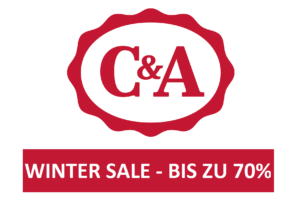 C&A Winter Sale – bis zu 70% Rabatt!