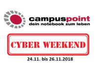 Das CampusPoint Cyber Weekend – 3% Rabatt auf alles!