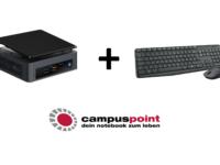 CampusPoint Gratis Aktion: Logitech Tastatur/Maus Kombination geschenkt!