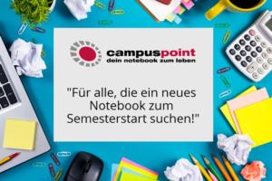 CampusPoint HP Studentenrabatt – bis zu 100€ sparen!