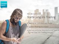 Das Consorsbank Young Trader Konto: kostenlos + 100€ Bonus obendrauf!