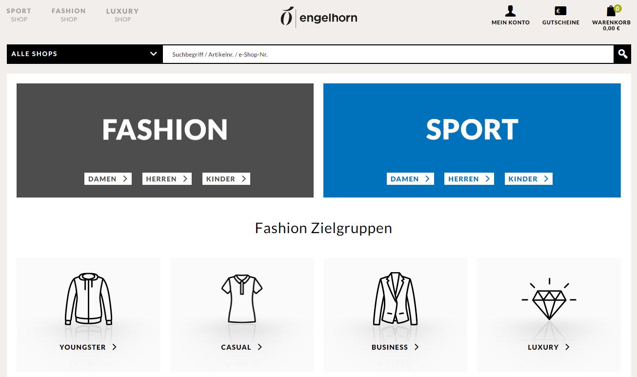 Engelhorn Gutschein Startseite