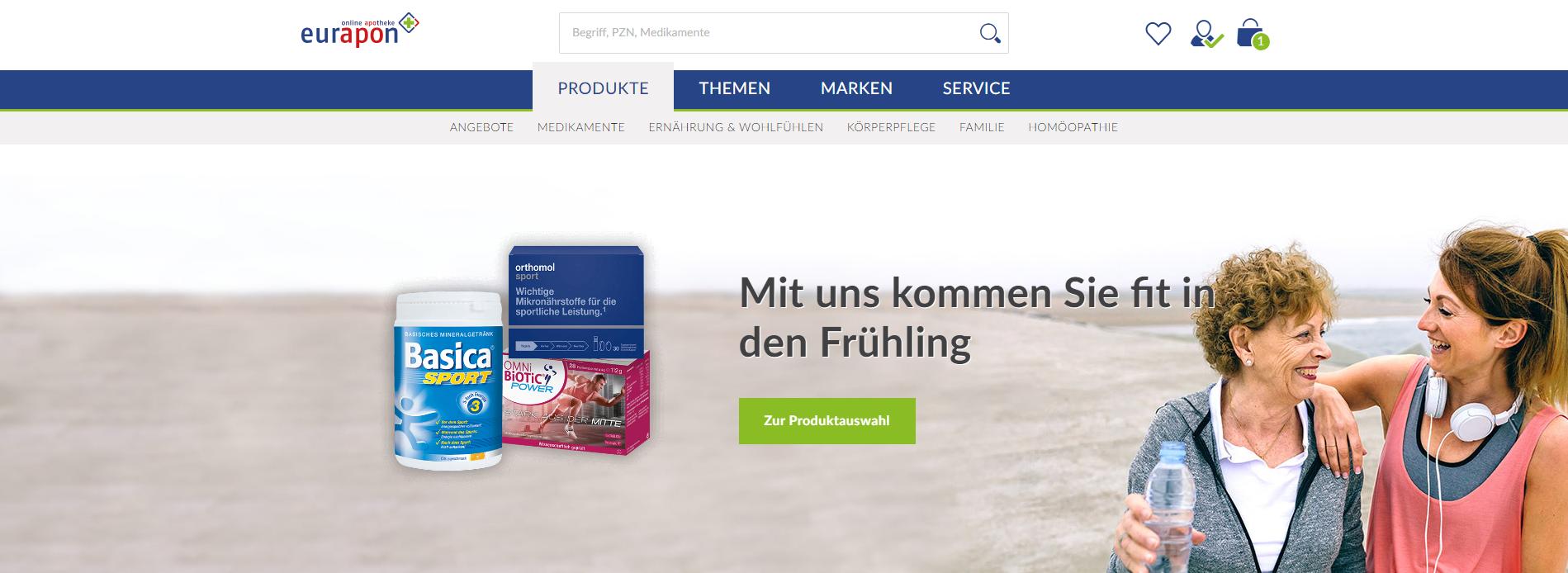 Eurapon Gutschein Online Shop