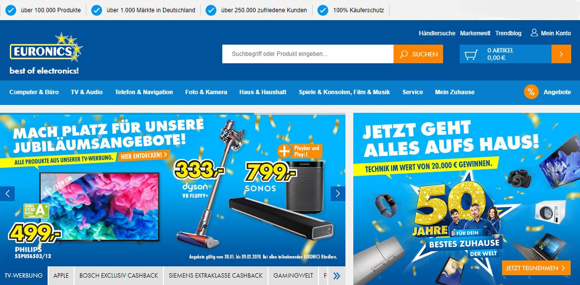 Euronics Gutschein Online Shop