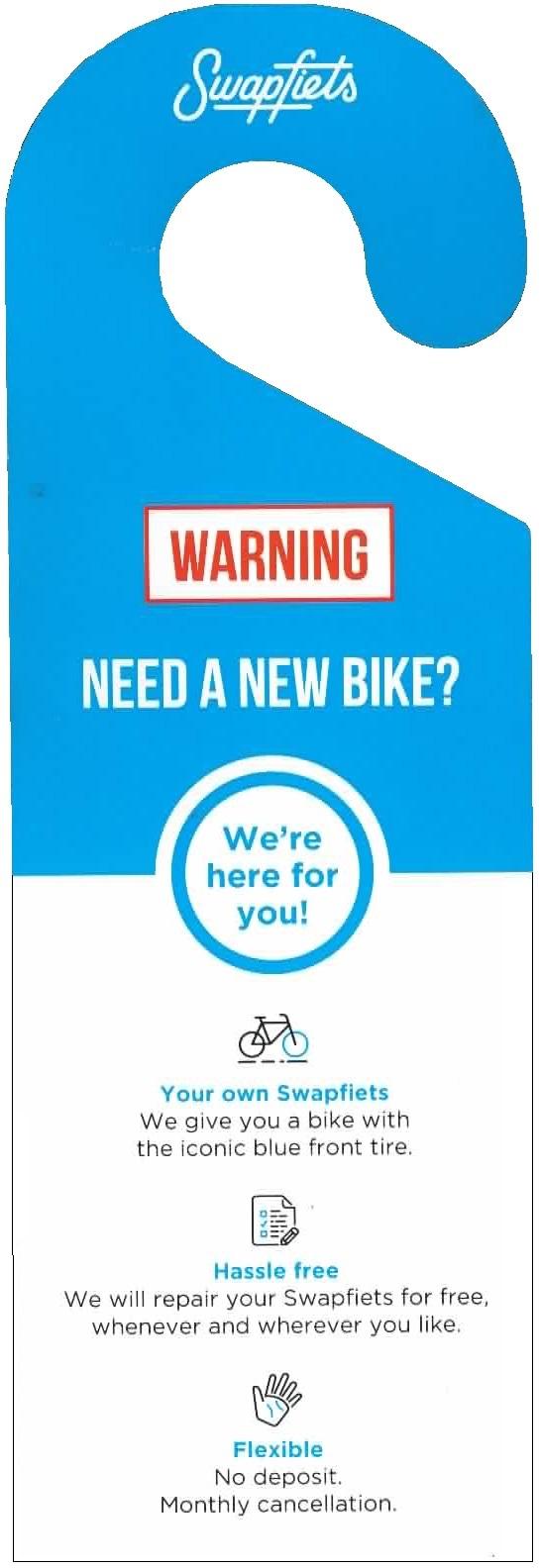 Fahrrad Leasing Swapfiets Anhänger 2