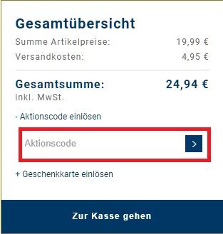 Karstadt Gutschein aktionscode