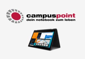 Aktionen bei Campuspoint: günstige Laptops für Studenten