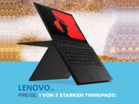 Lenovo Gewinnspiel für Studenten: Jetzt 1 von 3 Notebooks absahnen!
