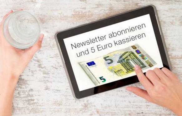 Möbel-Eins Gutschein 5€ Newsletter