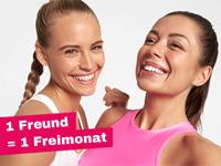 """McFIT Angebot """"Bring a Friend"""": Gratismonate für Freundewerbung"""