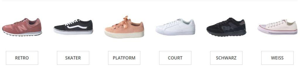 Schuhcenter Gutschein sneaker