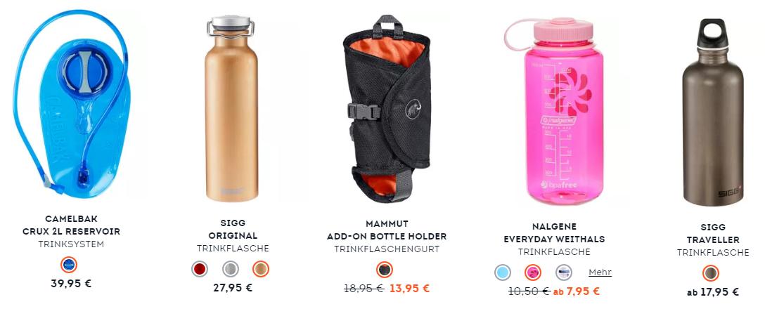 SportScheck Fahrradzubehör Flaschen